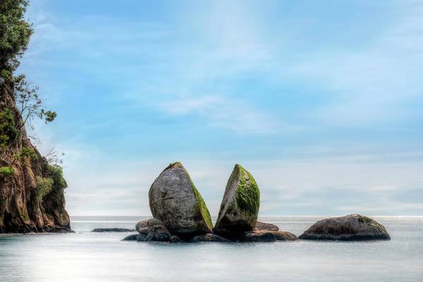 Split Apple Rock - New Zealand Poster