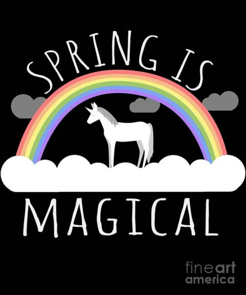 Spring Is Magical Poster