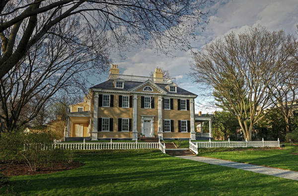 Poster featuring the photograph Springtime At Longfellow House by Wayne Marshall Chase