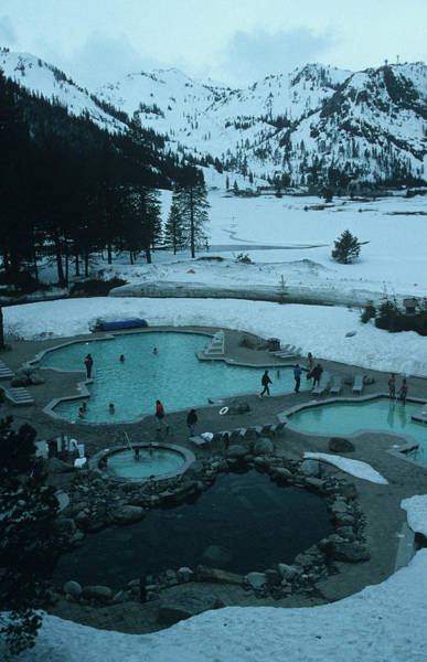 Squaw Valley Pool Poster