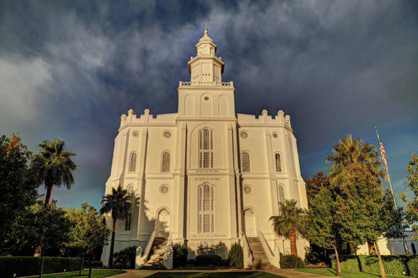 St George Lds Temple Poster