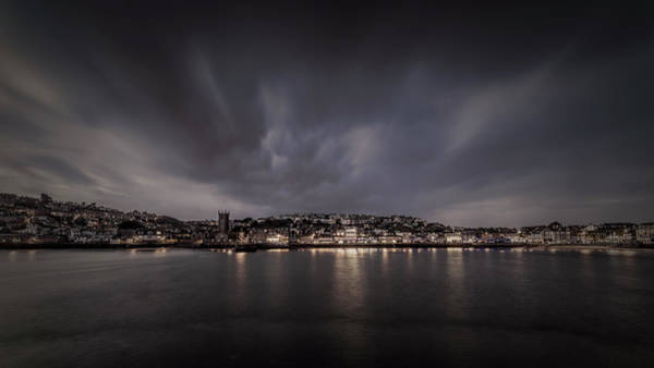 St Ives Cornwall - Dramatic Sky Poster