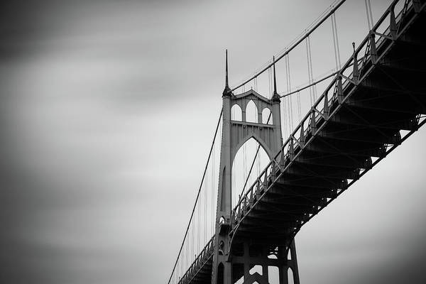 Poster featuring the photograph St. Johns Bridge by Nicole Young