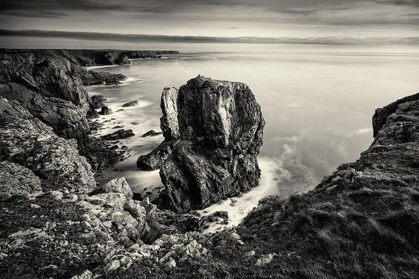 Stack Rocks - Black And White Poster