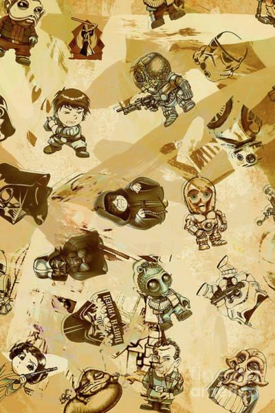 Star Wars Sticker Wall Poster