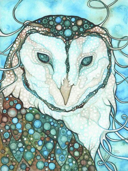 Starlit Owl Poster