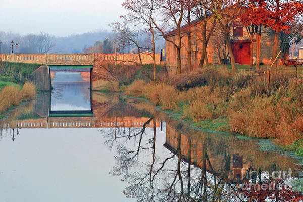Still Waters On The Canal Poster