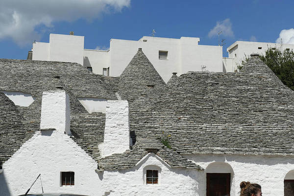 Stone Coned Rooves Of Trulli Houses Poster