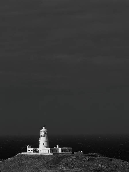 Poster featuring the photograph Strumble Head Lighthouse by Elliott Coleman