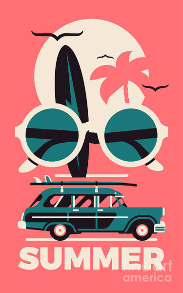 Stylish Vector Concept Design On Poster