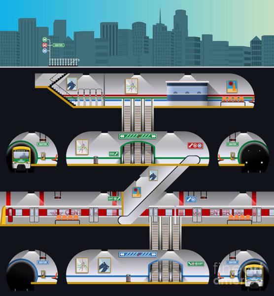 Subway Complex Poster