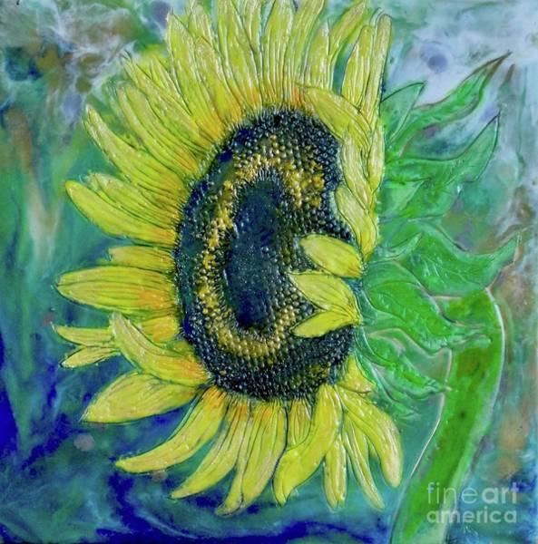 Sunflower Smiles Poster