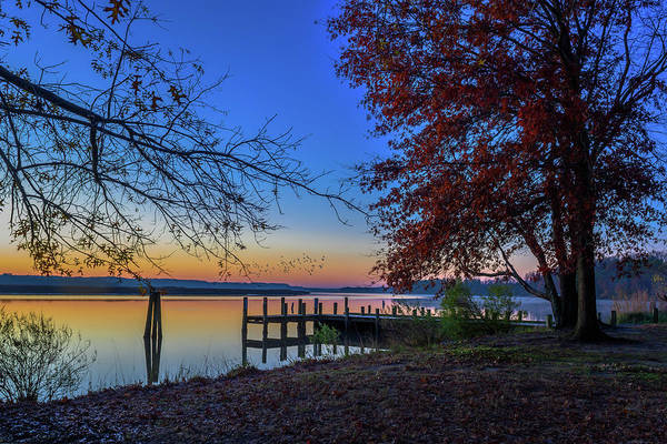 Sunrise On The Patuxent Poster