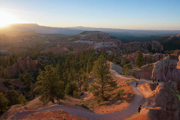 Sunrise Over Bryce Canyon Poster