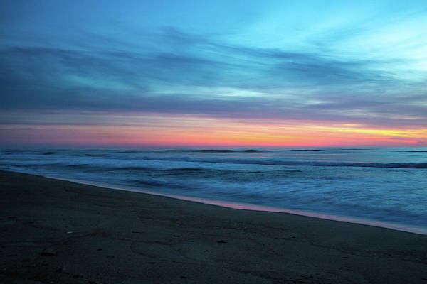 Poster featuring the photograph Sunrise Over The Outer Banks by Lora J Wilson