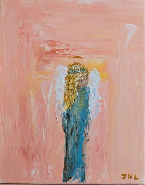 Sunset Angel Poster