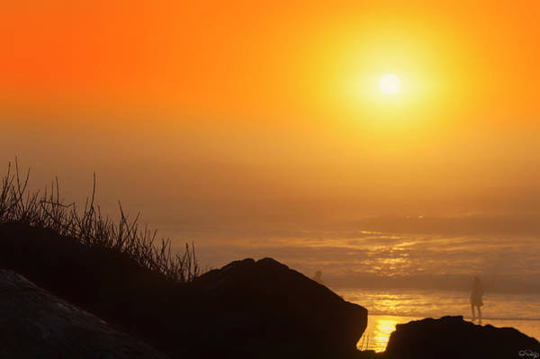 Sunset At Beverly Beach On The Oregon Coast Poster