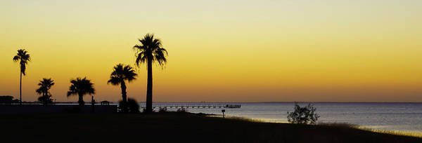 Sunset On Copano Bay, Texas Poster