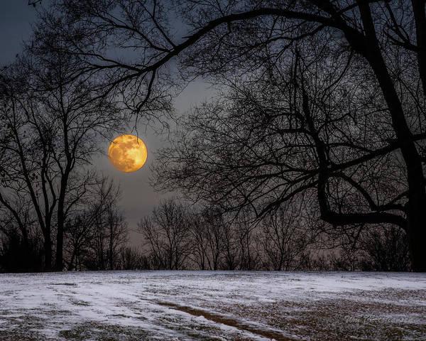 Super Blue Moon Rising 3 Poster