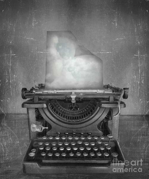 Surreal Imagine In Black And White Of A Poster