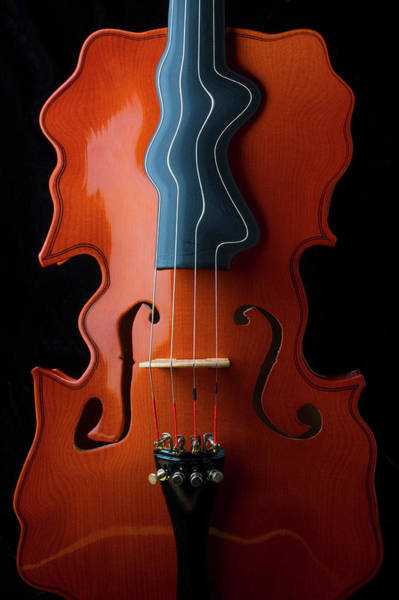 Surrealistic Violin Poster