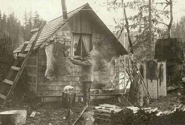Surveyor's Cabin Poster