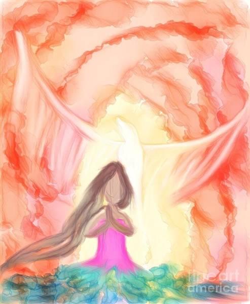 Sweet Hour Of Prayer Poster