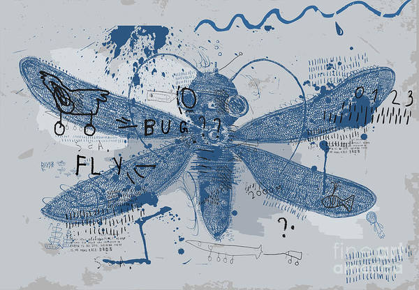 Symbolic Image Of A Bee That Is In Poster