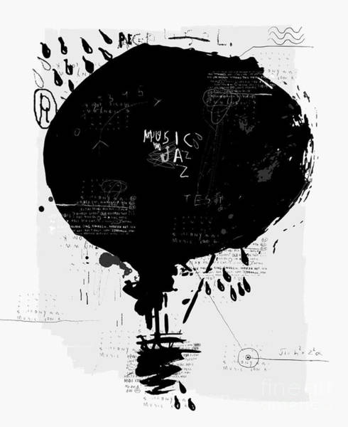 Symbolic Image Of The Balloon Poster