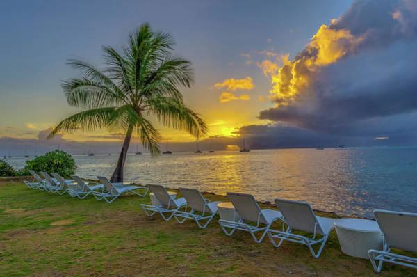 Tahiti Sunset Poster