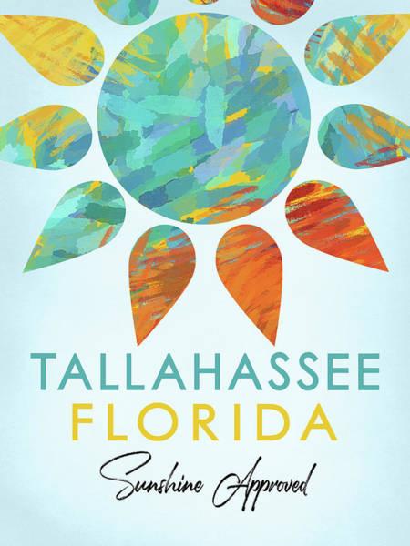Tallahassee Florida Sunshine Poster