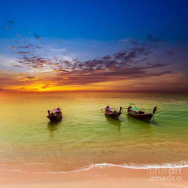 Thailand Nature Landscape. Tourism Poster