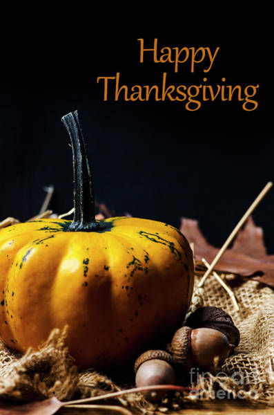 Thanksgiving Dinner Invitation Card. Poster