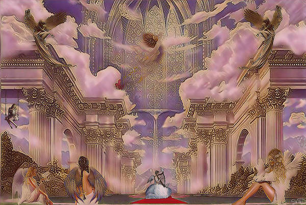 The Angels Palace Poster