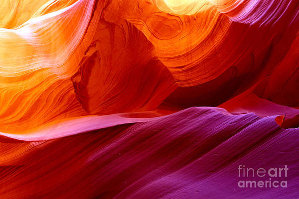 The Antelope Canyon, Page, Arizona Poster