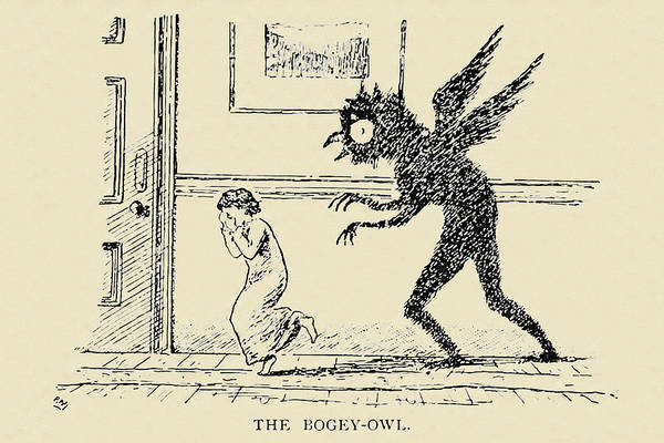 The Bogey-owl Poster