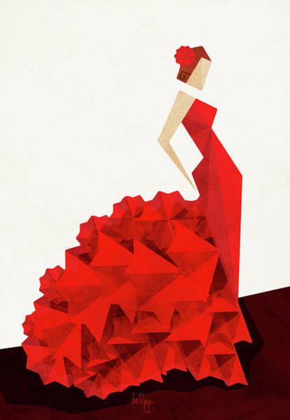 The Dancer Flamenco Poster