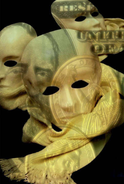 The Face Of Greed Poster