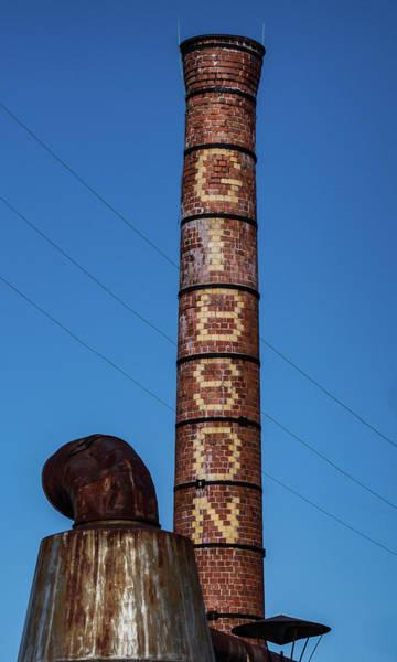 The Gibson Smokestack Poster
