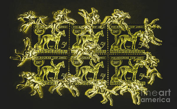 The Golden Race Poster