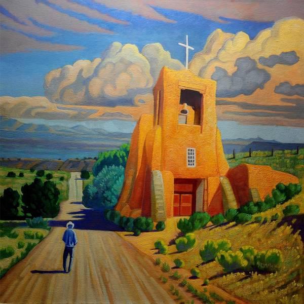 The Long Road To Santa Fe Poster