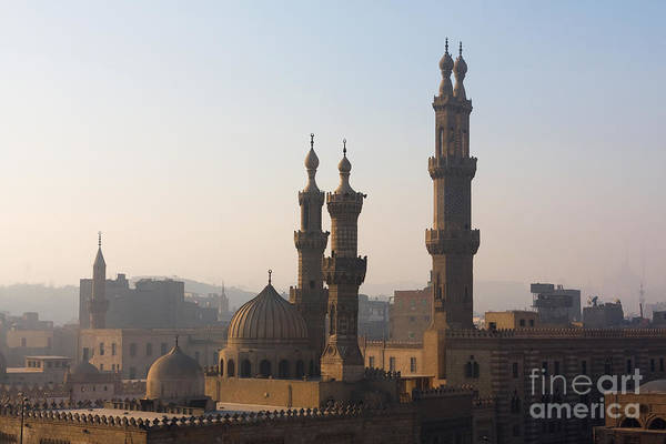 The Minarets Of Cairo, Egypt Poster