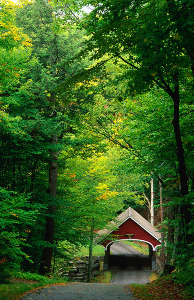 The New Hampshire Covered Bridge 39 Poster