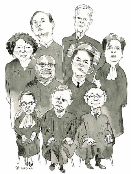 The New Supreme Court Poster