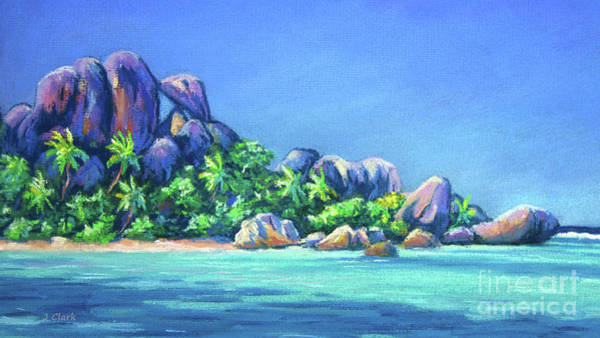 The Rocks On La Digue  Panoramic Poster