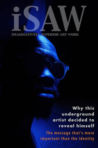 Poster featuring the digital art The Underground Artist by ISAW Company