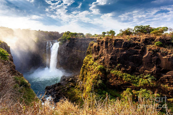 The Victoria Falls Is The Largest Poster