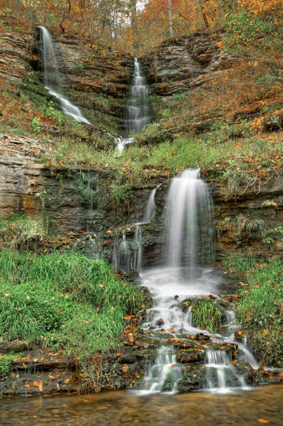 Thunder Falls - Dogwood Canyon Nature Park - Missouri Poster