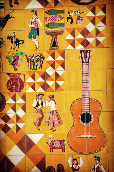 Tile Detail Lisbon Portugal  Poster