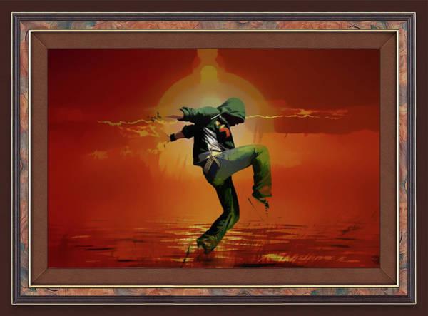 Tip Toe Dancer Poster